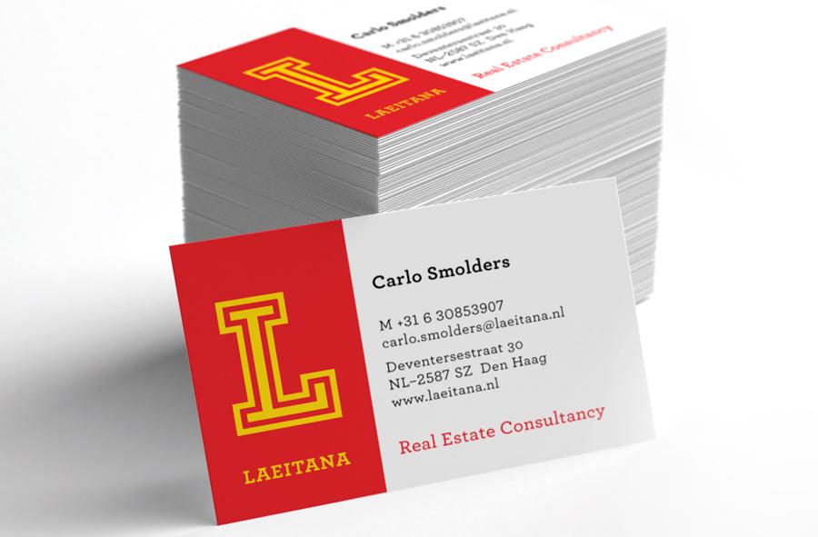 Businesscard – Laeitana Real Estate Consultancy